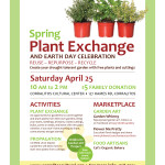 Spring Plant Exchange 4/25/15