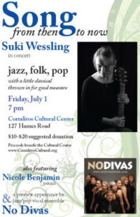 Suki Wessling Concert – click on poster